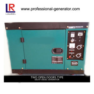5kw / 5.5 Kw Silent Diesel Generator Low Oil Alarm pictures & photos