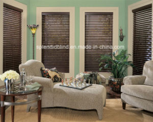 Wooden Windows Blinds Quality Windows Wood Blinds pictures & photos