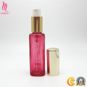 Pink Cuboid Sprayer Bottle for Cosmetics pictures & photos