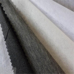Light Weight Non-Woven Fusible Interlining for Woolen Fabric Garments pictures & photos
