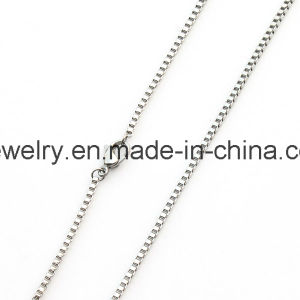 2mm 3mm Thick stainless Steel Leather Necklace pictures & photos