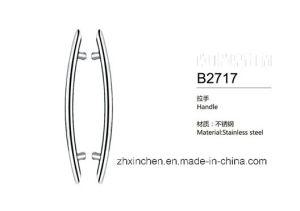 Xc-B2717 Stainless Steel Handle Bathroom Big Size Door Pull Handle pictures & photos