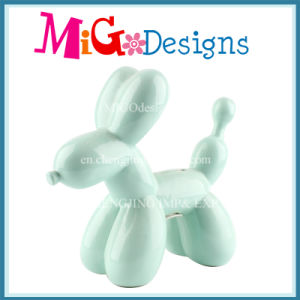 Lovely Balloon Dog Use ceramic Money Box for Saving pictures & photos