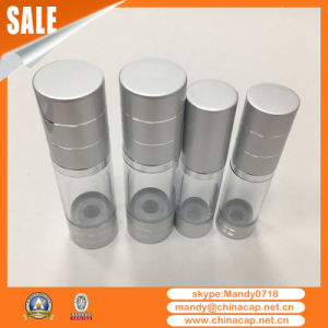 Aluminum Plastic Airless Sprayer Bottle for Lotion Cream pictures & photos