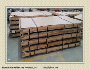Hairline Stainless Steel Plates for Kitchen Cabinet High Demand Products pictures & photos