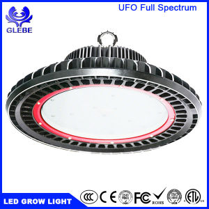 UFO Design IP65 150W 175X3w LED Plant Grow Light UV IR LED Full Spectrum pictures & photos