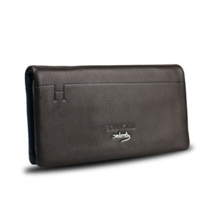 Men Clutch Bag Classic Genuine Leather Business Travel Wallet pictures & photos