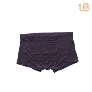 Men′s Comfortable Basic Seamless Boxer Underwear pictures & photos