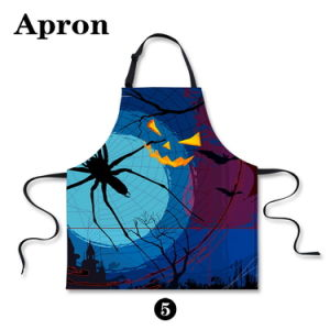 Hot Selling Halloween Printed Apron pictures & photos
