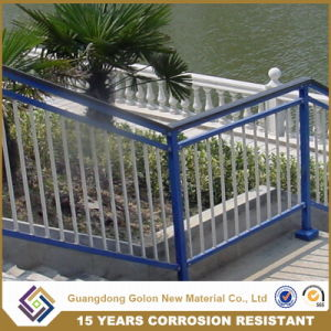 Customized Wrought Iron Straight Stair Railing pictures & photos