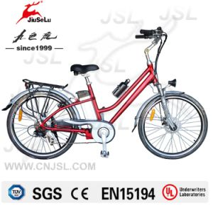 "26"" Aluminum Alloy Frame 250W Brushless Motor City E-Bikes (JSL038B) pictures & photos"