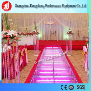 Aluminum Alloy Glass Stage for Wedding and Event pictures & photos
