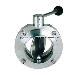 Stainless Steel Manual Butterfly Valve pictures & photos