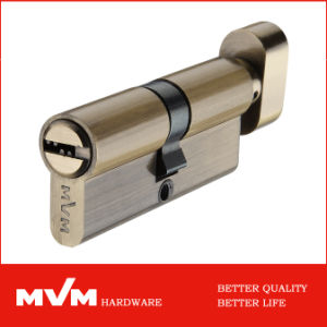 High Quality Hardware Mortise Lock Brass Cylinders (P6E3535T) pictures & photos