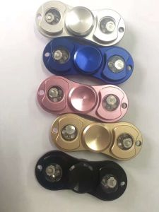 Aluminium Alloy Metal Hand Spinner with LED Touch Flashing pictures & photos