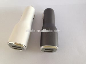 Shenzhen Company Good Quality Universal Mini Dual USB Car Charger with 5V 3.1A Output for Mobile Phone pictures & photos