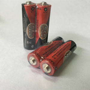 Mercury Free Carbon Zinc AA Battery (real image) pictures & photos