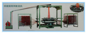 Four Shuttle Circular Loom for Mesh Bags pictures & photos