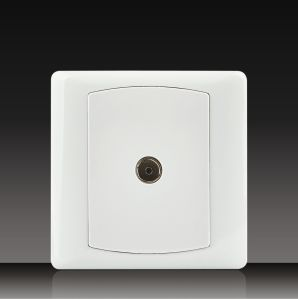 Coaxial Wall TV Socket (DK20) pictures & photos
