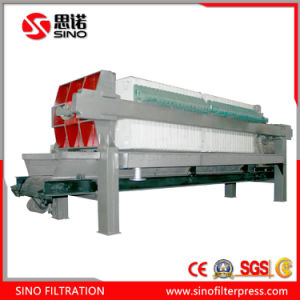 Pharmacy Wastewater Treatment Automatic Hydraulic Recessed Filter Presses pictures & photos