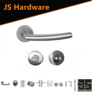 High Level Stainless Steel Glass Door Handle pictures & photos