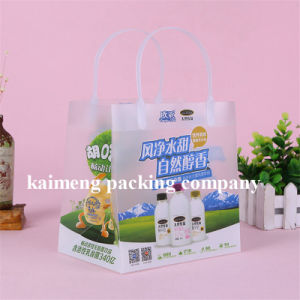 Professional Factory Supply Plastic Frosted PP Handle Bags for Food Package (handle bags) pictures & photos
