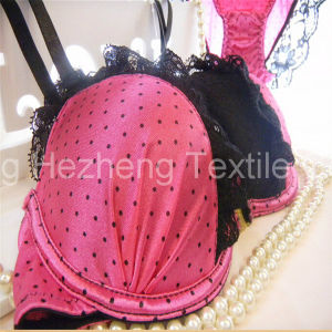 Textile Dull Stretch Satin Fabric for Women′s Underwear pictures & photos