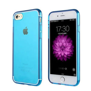 Colorful Transparent Clear TPU Cell Phone Case for iPhone 7 pictures & photos
