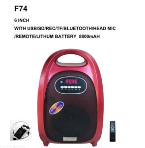Feiyang/Temeisheng Prtable Mini Colorful Bluetooth Speaker with Handle--F-74s pictures & photos