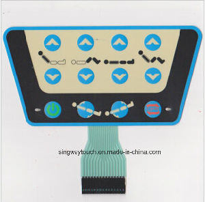 Customize High Sensivity Metal Dome 3m Adhesive Membrane Switch pictures & photos