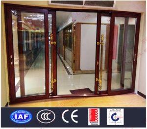 Deluxe Aluminium Curved Sliding Doors (BHA-DSA05) pictures & photos