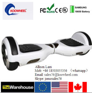 Us Germany Warehouse China Factory Portable 2 Wheel 6.5 Inch Self Balance Electric Scooter pictures & photos