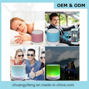 Mini Portable LED Light Wireless Bluetooth Speaker S10 pictures & photos