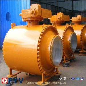 Class 900 Trunnion Gear Operation Ball Valve pictures & photos