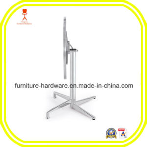 Furniture Hardware Parts Mobile Folding Table Base Leg Aluminum pictures & photos