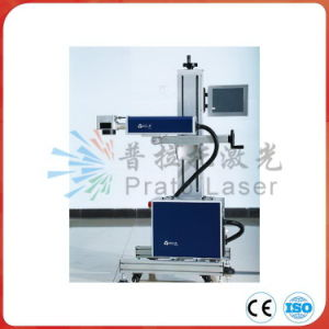 China Hot Sale Plastic Bag Date Printer / Flying CO2 Laser Marking Machine pictures & photos
