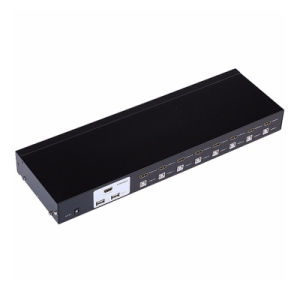 8 Port Auto HDMI Kvm Switch USB Hothey Console 1080P Video Switcher pictures & photos