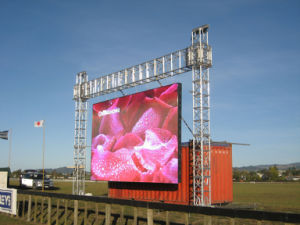 Portable Outdoor P3.91 Movable LED Screen pictures & photos