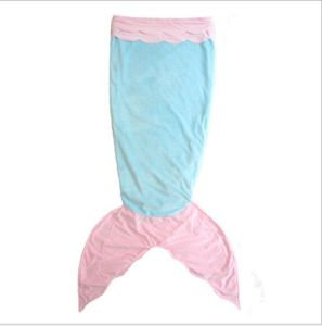 Home Textile Portable Soft Mermaid Tail Polyester Blanket pictures & photos