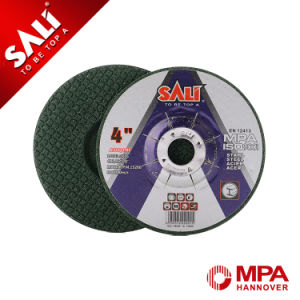 "Sali 4"" Stainless Steel Polishing Abrasive Wheel Flexible Grinding Disc pictures & photos"