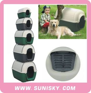 Outdoor Kennel Dog Carrier Plastic Dog House pictures & photos