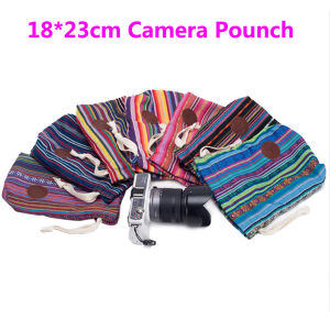 18*23cm Cotton Bohemia Style Camera Bag Pouch for Digital Camera pictures & photos