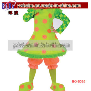 Clown Funny Circus Clown Womens Halloween Party Costume (BO-6035) pictures & photos