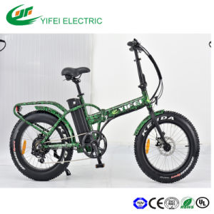 Fat Tyre 4.0 Alloy Frame Big Power Beach Electric Bicycle pictures & photos
