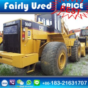 Used Cat Front Loader 966f with Log Clamp for Sale