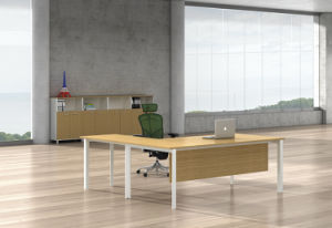 White Customized Metal Steel Office Executive Desk Frame with Ht100-2 pictures & photos