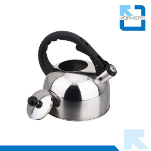 Hot Sale High Quality Stainless Steel 3L Whistle Kettles pictures & photos