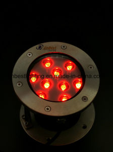 Anti-Rust Pool Light 9W LED Light RGB Color Changing pictures & photos