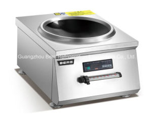 380V Save Energy High Power Stainless Steel Commercial Induction Wok Cooker for Hotel pictures & photos