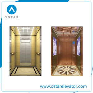 Wooden and Mirror Villa Lift Cabin of Elevator Parts pictures & photos